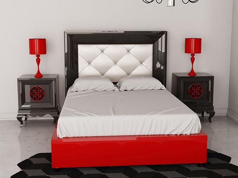 Chambre gris fonce et blanc ~ Design de maison