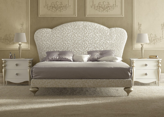 Upholstered bedroom. Mod. PA-D45