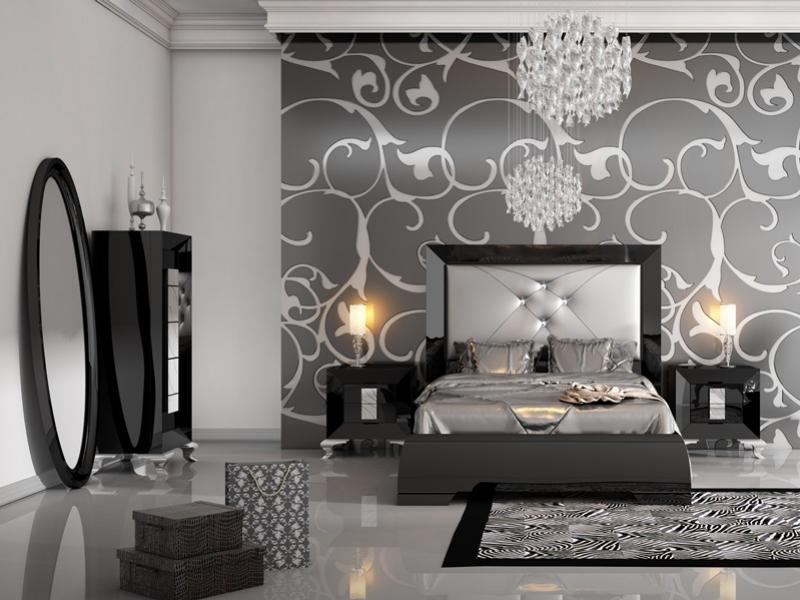 L mite limit 72 h chambre laqu e en noir n 250 - Chambre noir et gris ...