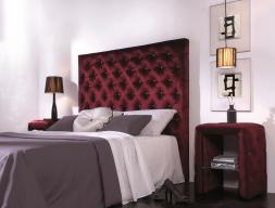 Upholstered bedroom.  Mod. VIENA