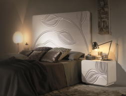 Lacquered bedroom. Mod. HOJAS RECTO DFM