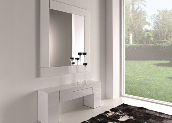 Set of console and mirror. Mod. NOVO