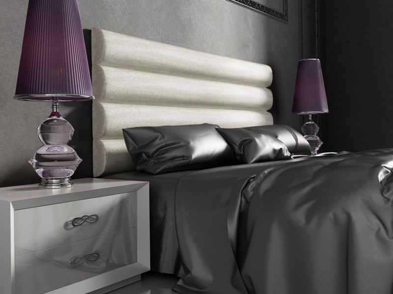 Lacquered bedroom. Mod. AZA