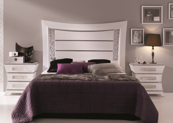 Lacquered bedroom. Mod. LEIRE CROM