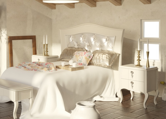 Lacquered bedroom. Mod. PERLATTO 3