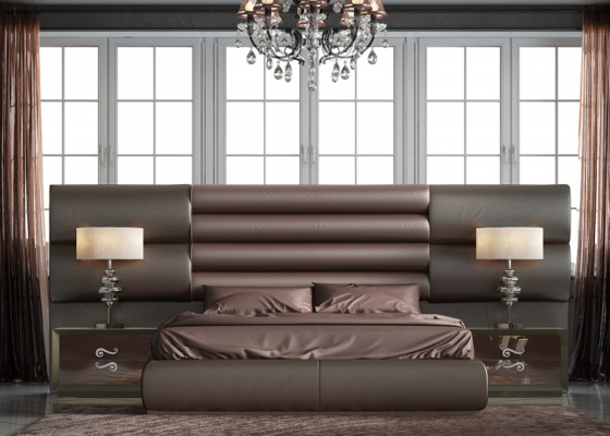 Lacquered bedroom. Mod. BRUTUS