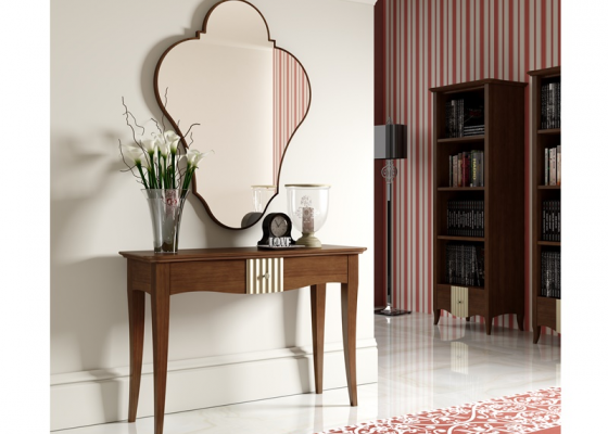 Set of console and mirror. NP001