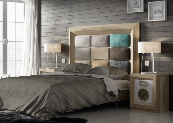 Oak bedroom. Mod. ENZO 001