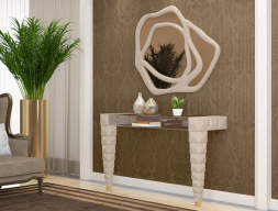 Set of console and mirror, mod: ROSE