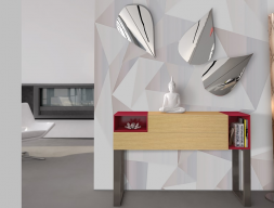 Set of console and mirrors, mod: PRAGA