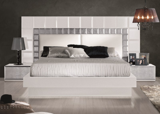 Lacquered bedroom , mod: NATASSIA WHITE