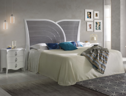 Lacquered bedroom. Mod: ARCO IRIS