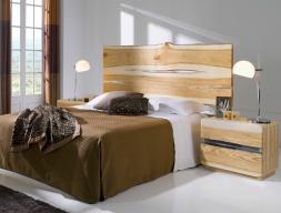 Ash wood bedroom. Mod. AMBAR