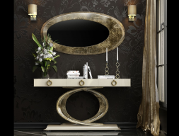 Set of console and mirror, mod: EIFFEL CV