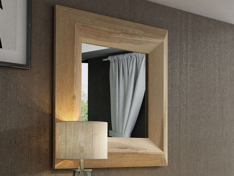 Set of console and mirror. Mod: MASSIF