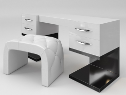 Set of vanity and bench. Mod. ZARAH