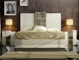 Design lacquered bedroom. Mod: YVONNE