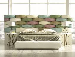 Design uphosltered bedroom. Mod. EYLEM