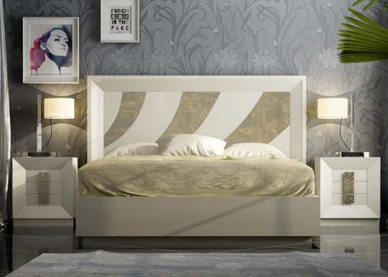 Lacquered bedroom. Mod. KARINA