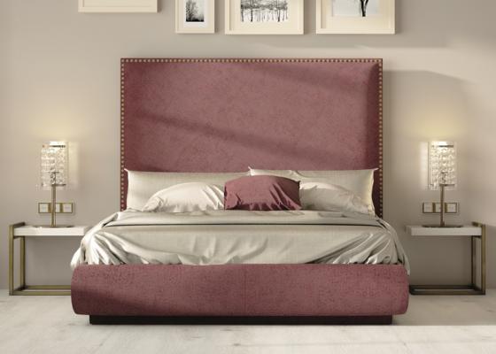 Upholstered bedroom. Mod. DARIA