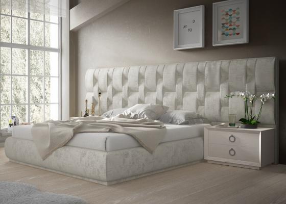 Design uphosltered bedroom. Mod. LALEH