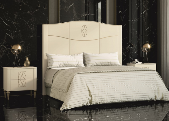 Lacquered bedroom. Mod. LLANOS