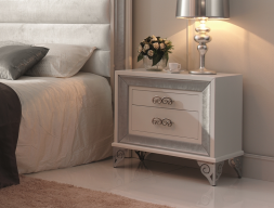 Bedside tables lacquered. Mod. GA9211PL