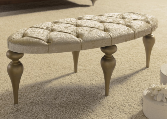 Upholstered bench, mod: PA9420