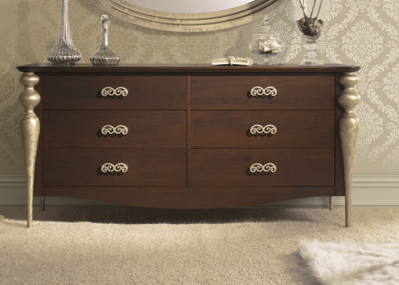 Chest of 6 drawers.Mod.PA9607