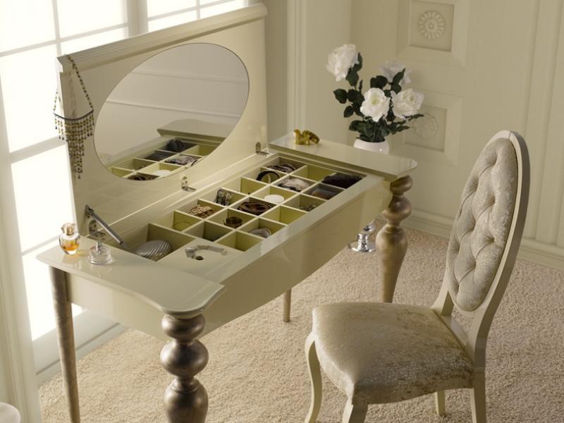 Dressing table with mirror and jewellery box mod pa9615 - Espejos de tocador con luz ...
