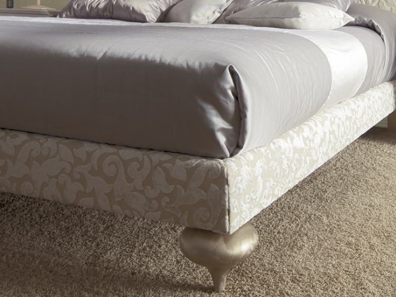 Upholstered bed frame . Mod.PA9484