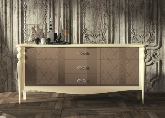 Sideboard lacquered.Mod: PA-9706-G