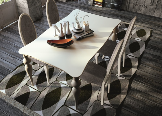 Dining table, mod:PA9784