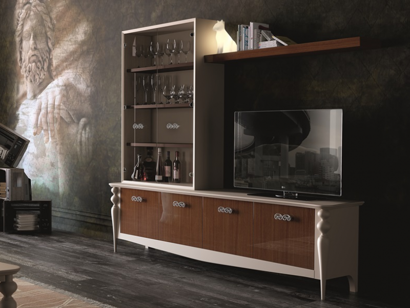 Lacquered modular composition, mod:PAF/03G