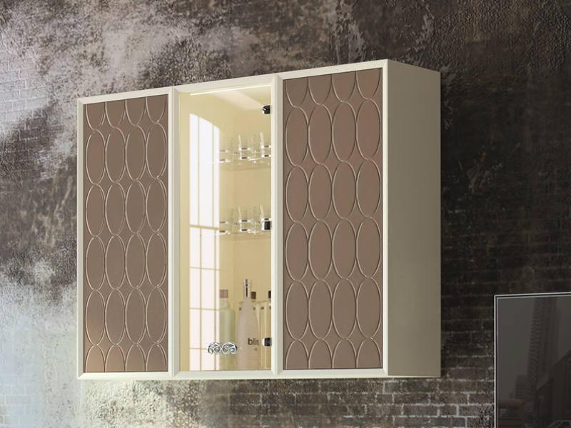 Lacquered modular composition, mod: PAF/08G