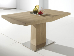 Extensible dining table. Mod. DORIAN ROBLE