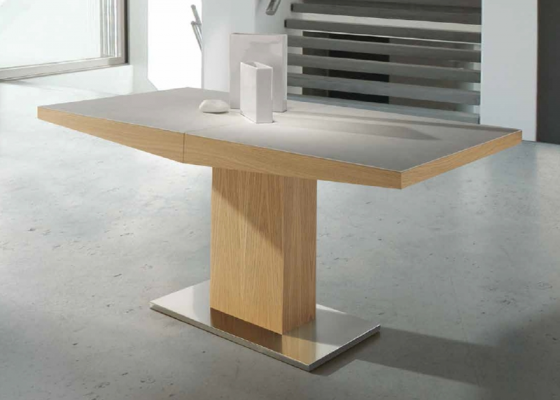Extensible dining table. Mod. DORIAN CERAMICA