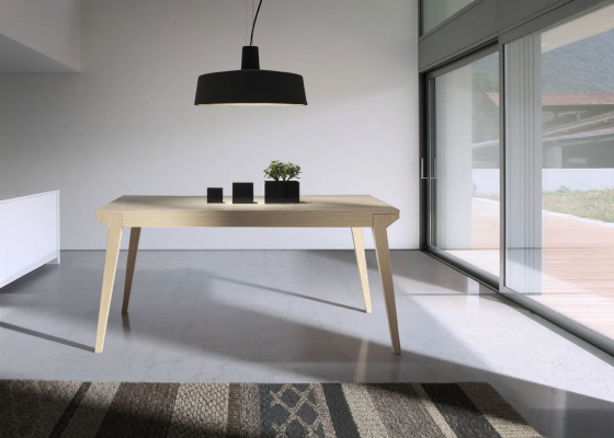 Extensible dining table. Mod. JAM