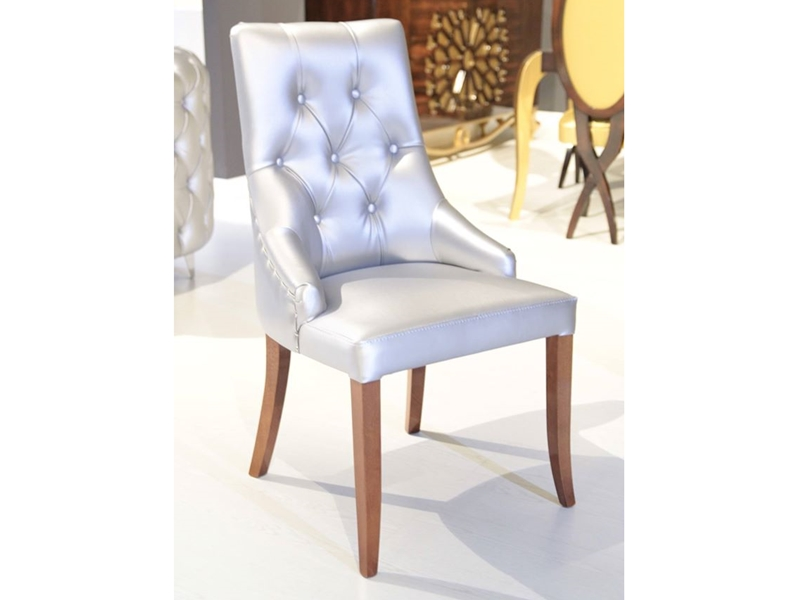 Set of 2 upholstered chairs. Mod. R99
