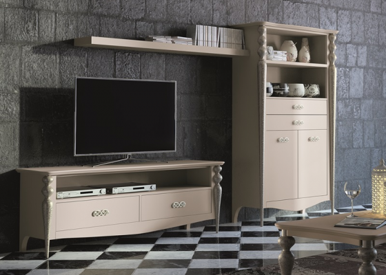 Lacquered modular composition, mod: PA07G