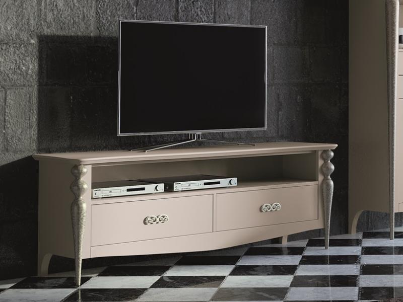 Meuble TV avec 2 tiroirs Mod PA9756 -> Meuble Tv Qui Tourne