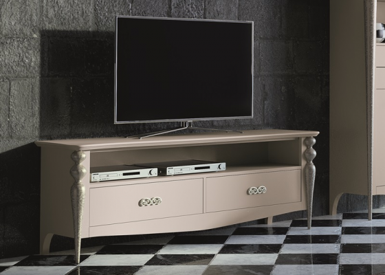 Buck TV with 2 drawers.Mod.PA9756