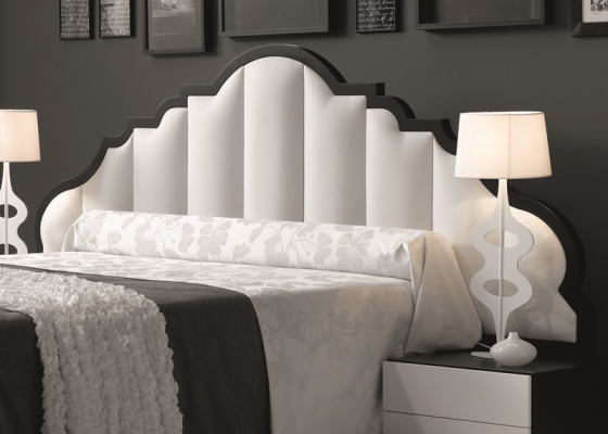 Lacquered headboard. Mod. BELLUCI