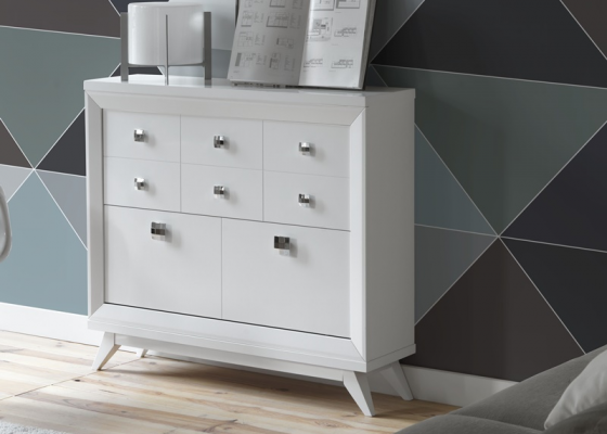 Shoerack with open angled legs. Mod. MB11
