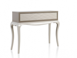 Console with 1 drawer with engraved  front. Mod. MB403