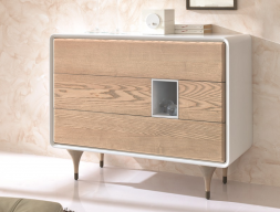 Chest of  4 drawers. Mod. NORDIC 511