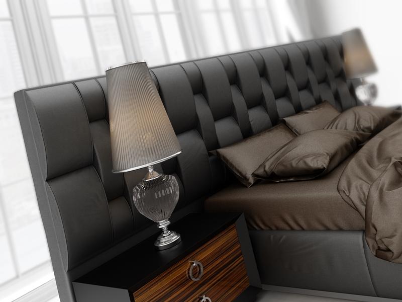 Upholstered  headboard. Mod: CADENAS