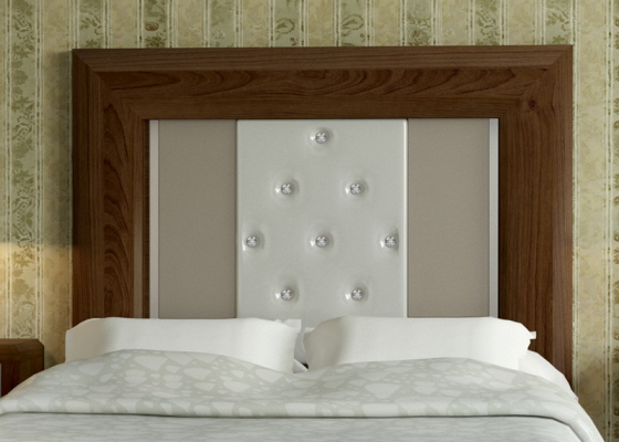 Uphosltered headboard . Mod. REAL