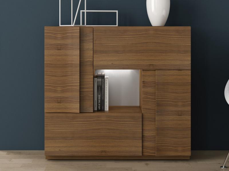 buffet avec 2 portes battantes une porte battante et 1. Black Bedroom Furniture Sets. Home Design Ideas