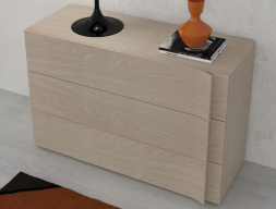 Chest of  3 drawers. Mod. LIBRO15403